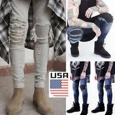 Burgundy Skinny Jeans Mens Mens Slim Fit Jeans Ebay