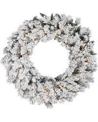 slash prices on vickerman 26956 36 flocked snow ridge 100 clear