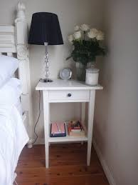 Ikea Hemnes Side Table Hemnes Nightstand White Stain Hemnes Fern And Shelves