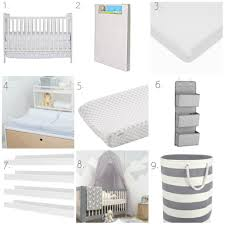 Mini Crib Fitted Sheet by Baby Nursery On A Budget With Lelo