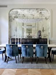 blue dining rooms modern navy dining room blue with chair rail white and chairs