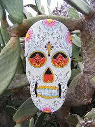 Fascinating Mexican Sugar Skull Wall Art Stickers Home Decoration