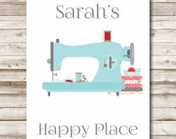 Sewing Room Decor Sewing Room Sign Etsy
