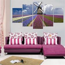 aliexpress com buy canvas painting purple lavender oil picture