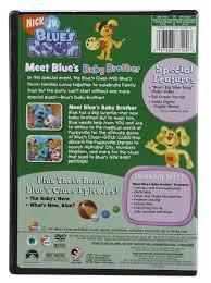meet blue u0027s baby brother dvd blue u0027s clues wiki fandom