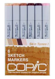 save on discount copic sketch markers skin tones 1 set of 6