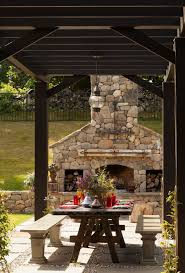 vancouver outside fireplace designs porch traditional with metal