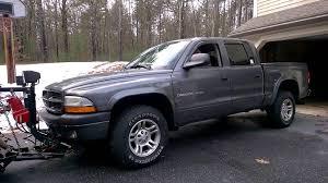 Dodge Dakota Used Truck Bed - 2002 dodge dakota sport 4x4 w western plow youtube