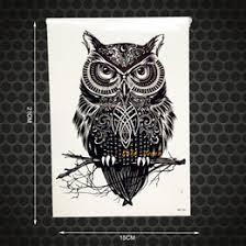 discount owl tattoo designs 2017 owl tattoo designs on sale at