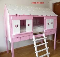 cabane fille chambre livraison du lit cabane 2