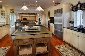 kitchen island molding kitchen with limestone tile kitchen island in ligonier pa