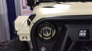 jeep bandit 2017 jeep wrangler jk tj projector headlights hid angel eyes halos