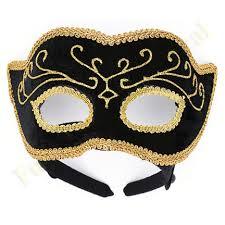 mardi gras mens mask black gold venetian mardi gras mask