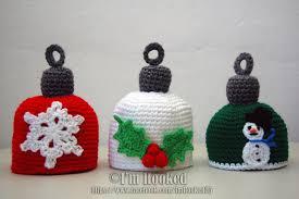 crochet treasures christmas ornaments hat