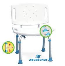 aquasense adjustable bath seat with backrest amazon ca health