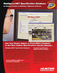 hunter engineering company webspecs net brochure in training