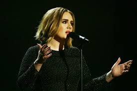 adele u0027s new haircut debuts on the british x factor vogue