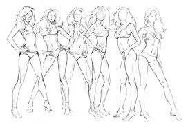 drawing a female figure how to draw the female body youtube