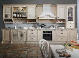 European Style Wood Kitchen CabinetVintage Kitchen Cabinets - Classic kitchen cabinet