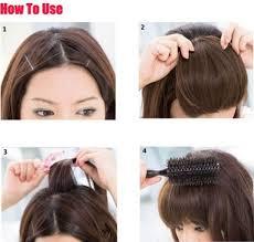 hair clip poni cara menggunakan poni clip veefame