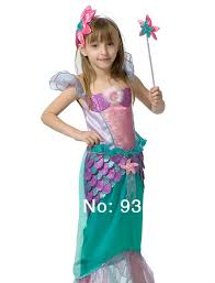 Mermaid Halloween Costume Toddler Kid Children Birthday Party Halloween Carnival Princess Ariel