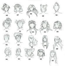 shonen hairstyles hairstyles 3 by tapspring 352 on deviantart