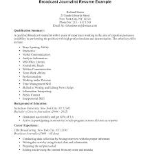 journalism resume template with personal summary statement exles journalist resume sle journalist resume template journalism