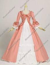 18th century colonial reenactment u0026 theater costumes ebay