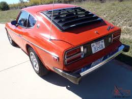 datsun 280z one owner garaged exc cond service records texas car