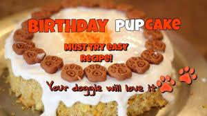 how to make a dog birthday cake easy diy doggie cake recipe