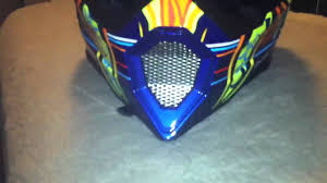 agv motocross helmet agv ax8 5 continents rossi dirt bike helmet unboxing review youtube