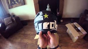 motocross helmet rockstar 2016 airoh twist matt helmet youtube