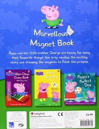 peppa pig marvellous magnet book amazon uk ladybird