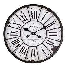 oversized vintage wall clock wholesale home decor white