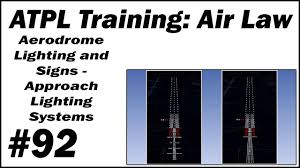 Approach Lighting System Atpl Training Air Law 92 Aerodrome Lighting And Signs