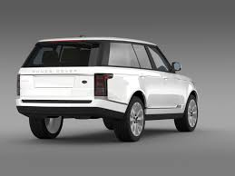 land rover vogue 3d model range rover vogue tdv6 l405 cgtrader