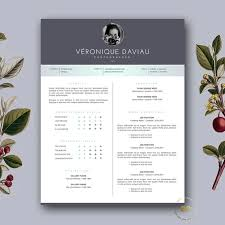 diy creative resume template cover letter template modern