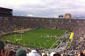 Notre Dame Stadium Map The South Bend Experience The Only Colors