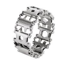 bracelet leather man silver images Leatherman tread metric silver multi tool bracelet ltg832325 jpg