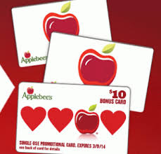 applebee s gift cards restaurant deals free panda express entree 2 drinks at caribou