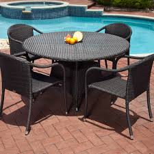 outdoor wicker dining table great attractive all weather wicker patio dining sets patio lights