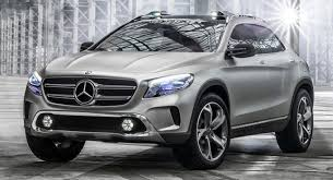 crossover mercedes mercedes gla concept official photos of compact crossover