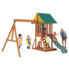 big backyard appleton wood swing set toys