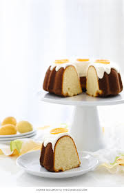 candied lemon bundt cake