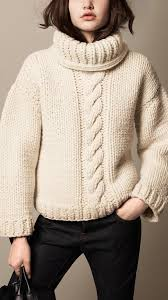 knit oversized sweater burberry brit alpaca wool cable knit roll neck sweater where to