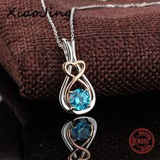 fashion necklace aliexpress images Aliexpress 925 sterling silver infinite mark pendant chains jpg