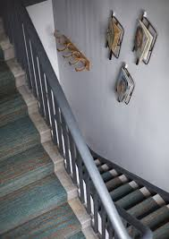 Interior Stairs Design In Duplex Apartments High Style Low Budget In This 750 Square Foot English Flat