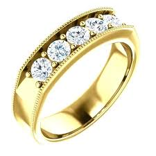 wedding bands philippines 14k wedding rings mens wedding bands 14k yellow gold slidescan