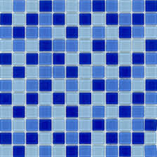 glass tile classic dark blue blend dark blue glass mosaic tiles