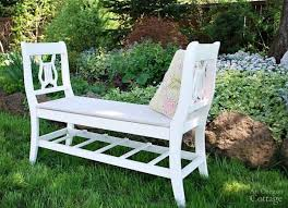 repurposed chairs into bench diy benches 12 designs for your